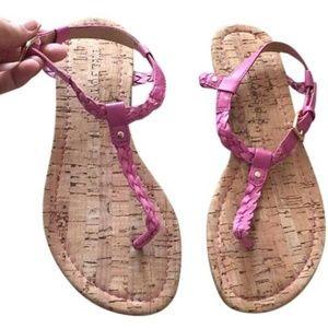 Talbots Pink Cricket Sandals
